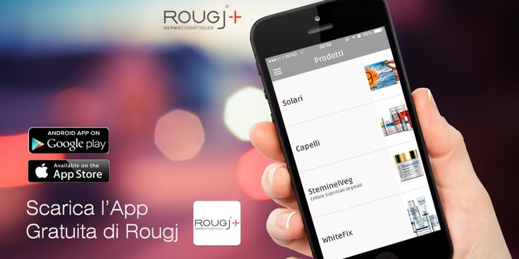 Scarica l'#app #rougj #mobile #ios #android #news
