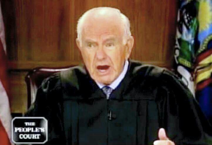 """R.I.P. to the legendary Judge Joseph Wapner, the originator of the Court TV Genre."" -Judge Greg Mathis 