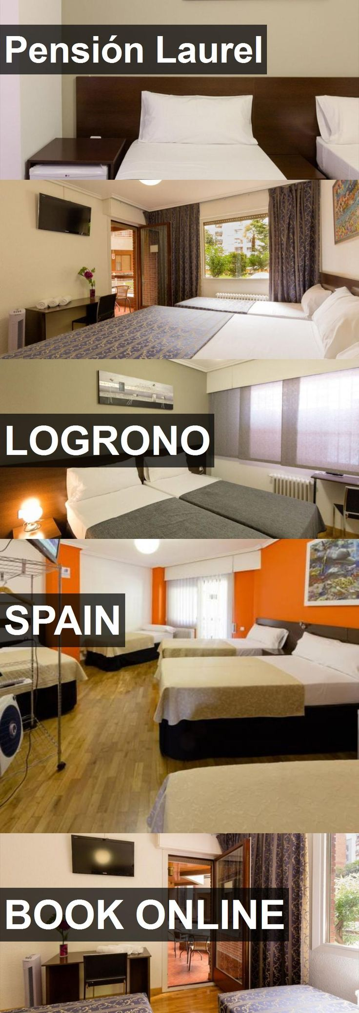 Hotel Pensión Laurel in Logrono, Spain. For more information, photos, reviews and best prices please follow the link. #Spain #Logrono #travel #vacation #hotel