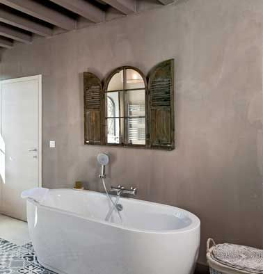 Relooker sa salle de bain avec du b ton min ral c 39 est top - Relooker sa salle de bain ...