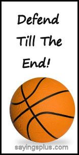 Huge collection of basketball sayings and quotes