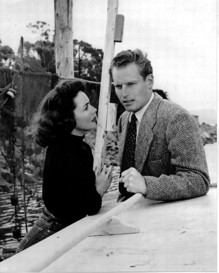 Jennifer Jones and Charlton Heston in Ruby Gentry directed by King Vidor, 1952