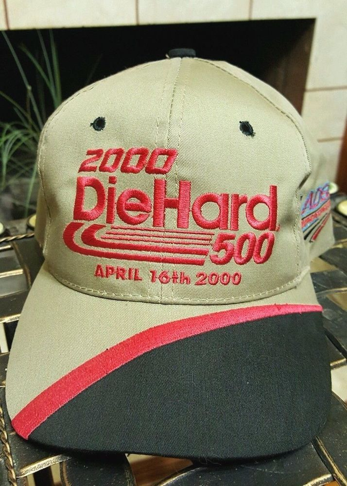 2000 DIEHARD 500 CAP APRIL 16th TALLADEGA SUPER SPEEDWAY Khaki Beige NASCAR Hat #Kudzu