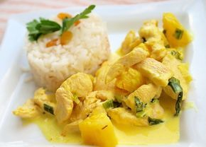 Курица карри - Подборка интересных кулинарных рецептов курицы карри -