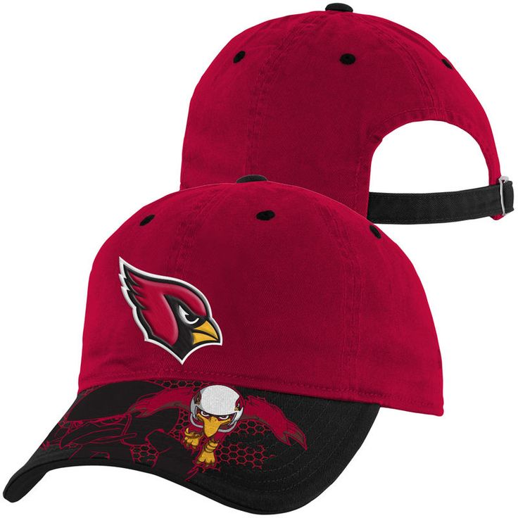 Arizona Cardinals Toddler NFL Rush Zone Defense Engage Adjustable Hat - Cardinal
