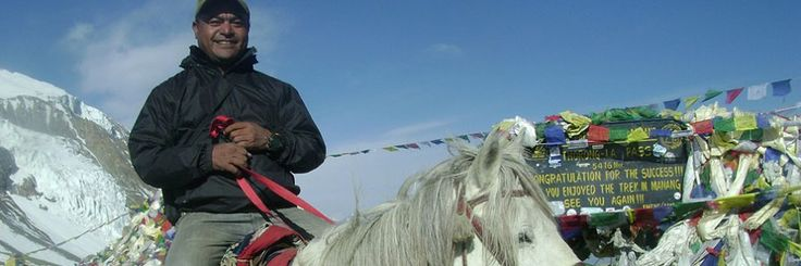 Trekking in Nepal Thorong la pass 5416m an advanture tour on horse ride in Mustang valley http://www.himalayanmagictreks.com/nepal/trekking-in-nepal/annapurna-region-trek/annapurna-circuit-trek.html
