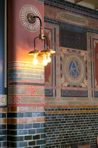 Bondsraadzaal, Burcht van Berlage, Amsterdam. Foto Arjan Bronkhorst