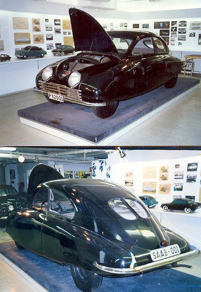 first made Swedish SAAB car