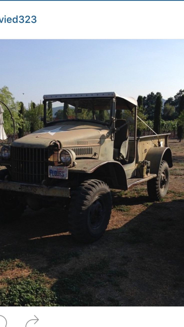 My 1941 WC13 Dodge power wagon, Antique cars, Vehicles