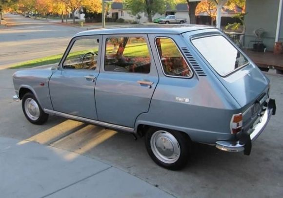 1969 Renault R6 For Sale in USA Front Blue Rear