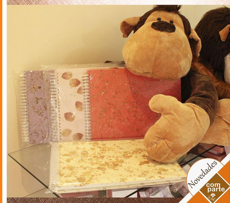 Álbumes Ecológicos con interior de papel fino Escríbenos a contacto@comparte.com.pe T: (511) 358 3751