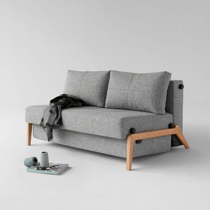 AFFILIATELINK  Schlafsofa Cubed 160 II Webstoff, skandinavisch, Design, Minimalistisch, Einrichtung, Deko, schlichte, Wanddeko, Schlafzimmerdeko, de…