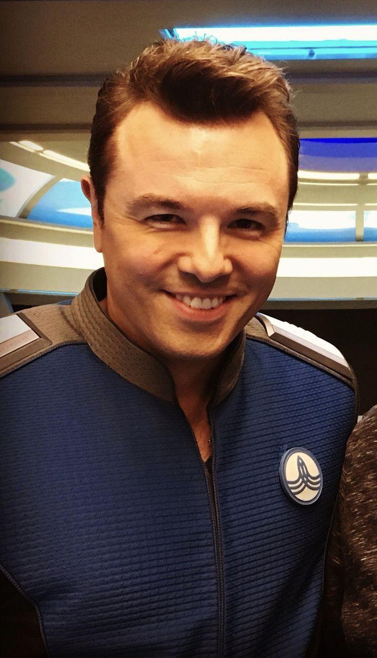 Sexy Seth as Captain Ed Mercer