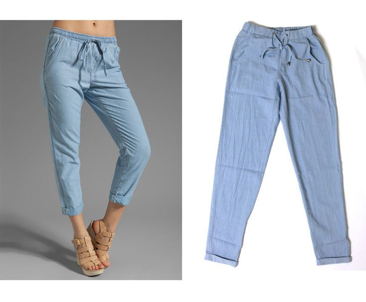 Go everywhere chambray pants.