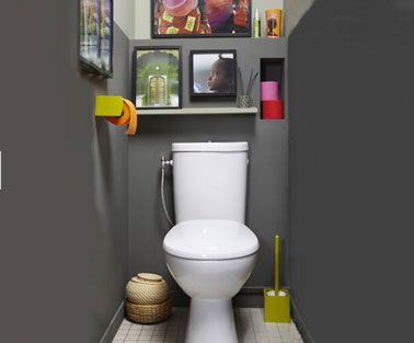 75+ best Toilettes // WC images by Déco Cool on Pinterest | Bathroom ...