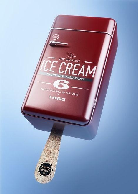3D inspiration ice cream