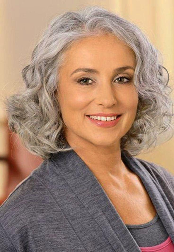Women's Hairstyles Gray Hair