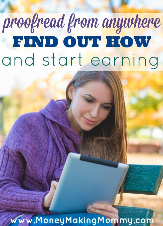 There are so many out there looking for a flexible at home career that they can work around their family's schedule and earn a good income. Being a proofreader just might be the career for you. Proofread from anywhere and on an iPad no less!  Learn how.
