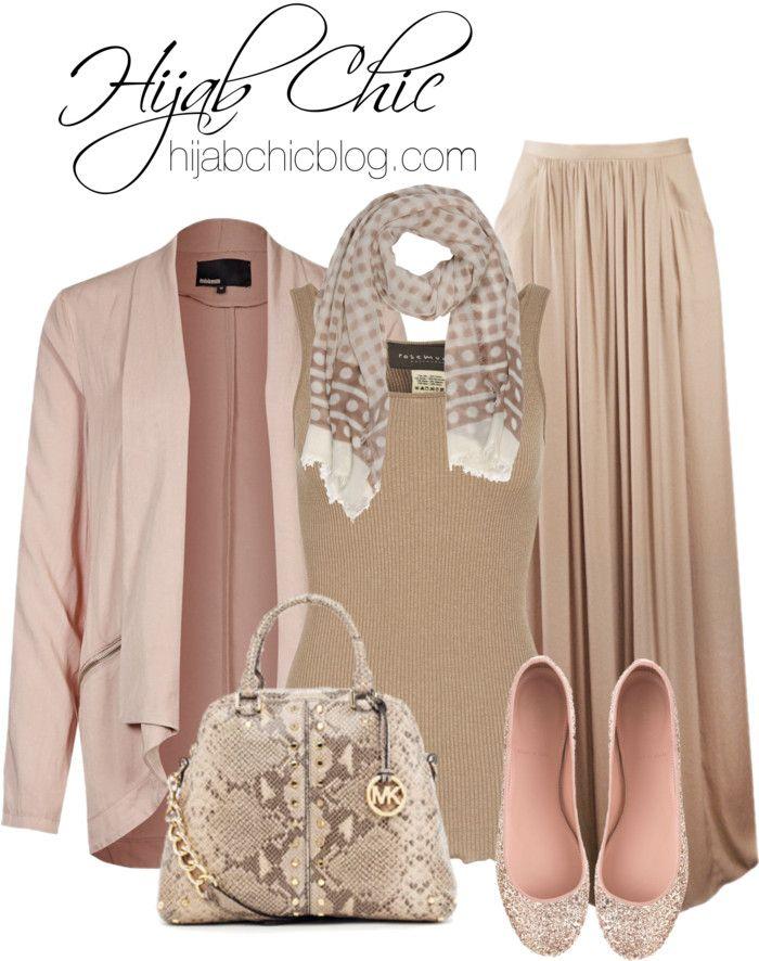 Hijab Style: J Crew pink flat