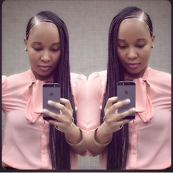 latest ghana weaving hairstyles (1) http://maboplus.com/nigerian-ghana-weaving-styles-for-round-faces/