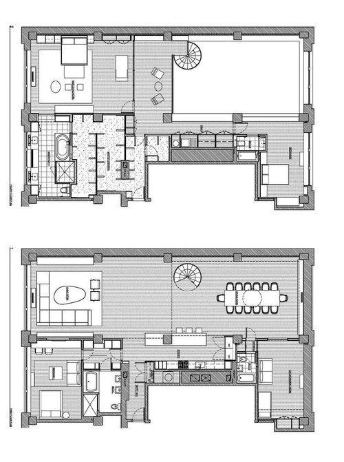 Apartment Building House Plans 97 best penthouse images on pinterest | apartment floor plans