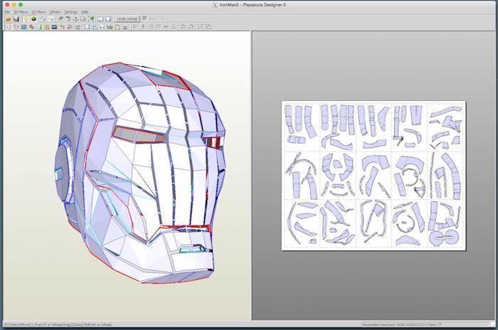 Running Pepakura Designer on a #Mac to Make Papercraft