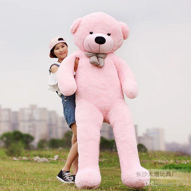 Großhandel 78 200cm Riesen Teddy Bear Stofftier Plüschtier Valentine Gift Freund Freundin, Tochter, Sohn Kindergeburtstags Freies Ems Von G777, $95.42 Auf De.Dhgate.Com | Dhgate
