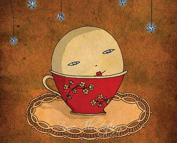 Moon of tea