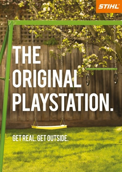 "Stihl ""The Original Playstation"""
