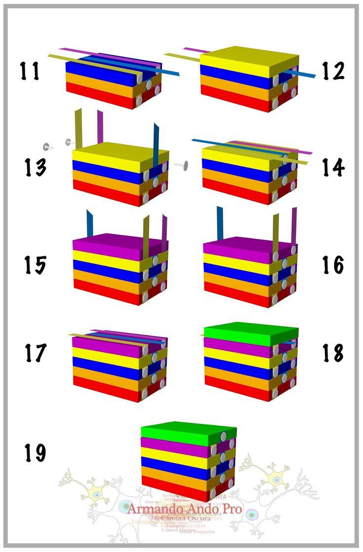 7 Mejores Imgenes De Dispositivos Visuales En Pinterest Mini Ir Theremin Schematic Pyroelectro News Projects Escalera Mgica Para Armar Armado Una Versin Larga Esca