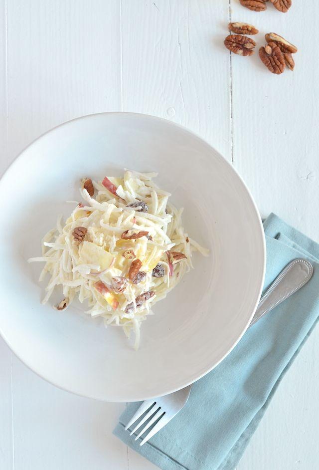 Selderijsalade. Dit recept is als je kwark gebruikt i.p.v. Griekse yoghurt Voedselzandloper proof.