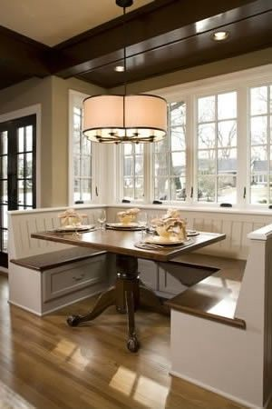Beautiful Kitchen Tables 323 best kitchen banquettes { benches } images on pinterest