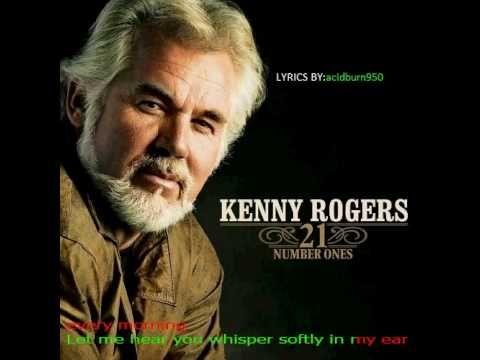 Kenny Rogers - LADY - originally pinned by Louise Szczepanik