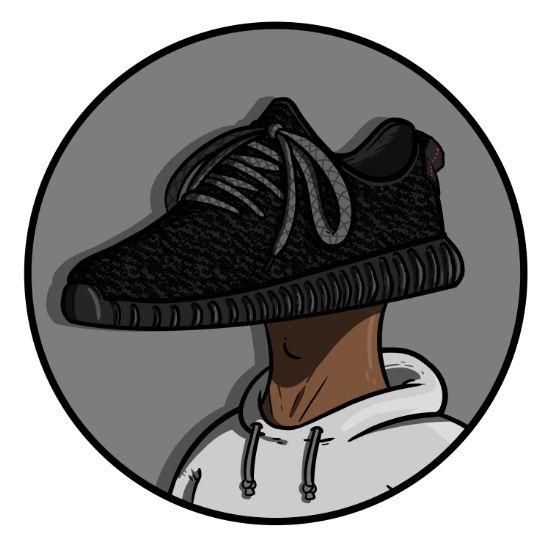 Sneaker Head - 350 Boost - Art Print - Sneaker Art - Kanye West
