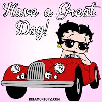 Click on picture for largest view Betty Boop Images, Quotesand Sayings -Good Day Kiss an Angel Good Morning and Love her like the De...