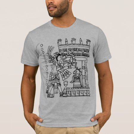 Aztec Codex  from the borgia group T-Shirt - tap to personalize and get yours