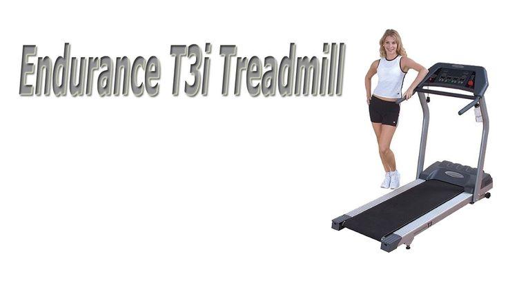 Endurance T3i Treadmill Video Review...