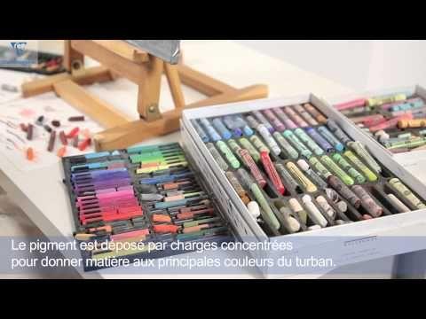 Vidéo : démonstration Portrait au Pastel sur Pastelmat - l'Atelier Géant