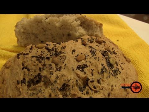 Retete Tupperware   Paine cu seminte (fara framantare) - YouTube