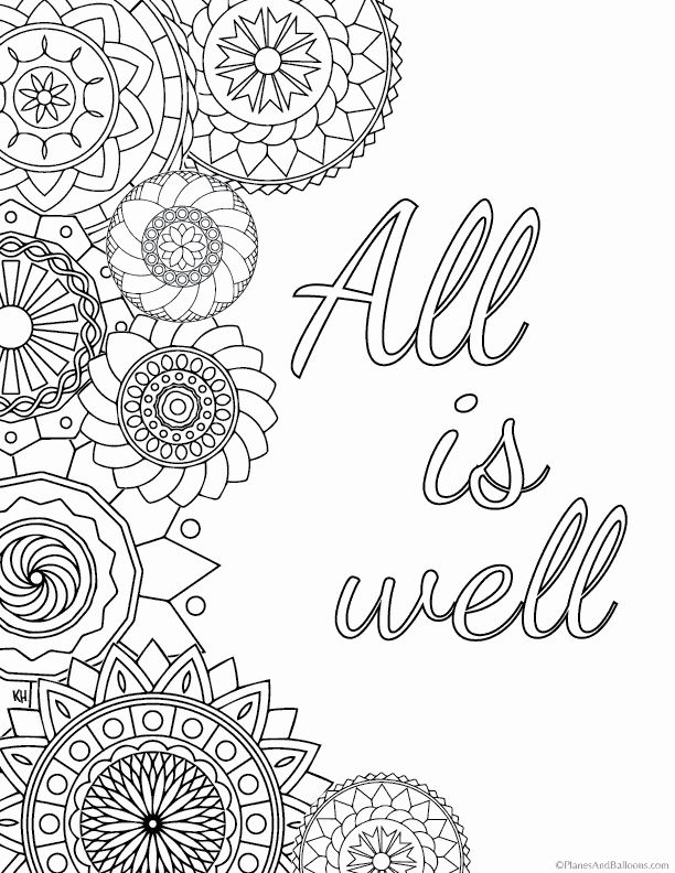Stress Relief Coloring Pages For Adults Designs Trend