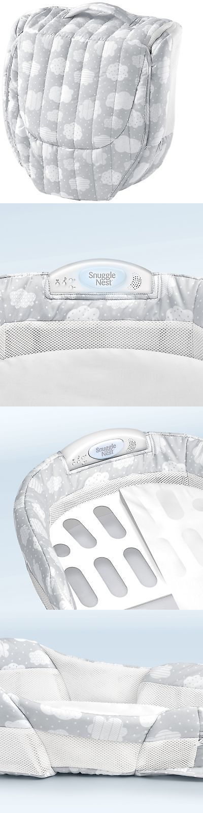 Baby Co-Sleepers 121152: Baby Delight Snuggle Nest Harmony Portable Infant Sleeper Baby Bed - Silver C... -> BUY IT NOW ONLY: $61.21 on eBay!