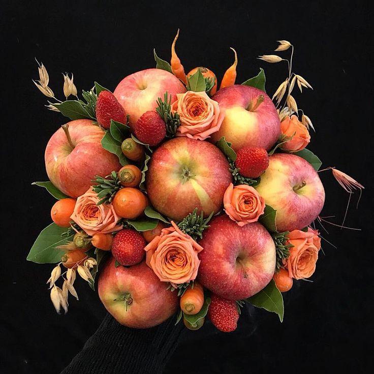 картинки букет из яблок частные