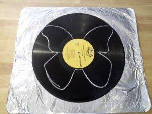 Today I'm gonna show you how to make some butterflies from vinyl records.