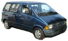 1987 Ford Minivan Aerostar