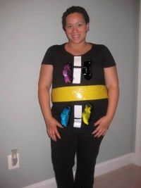 Pregnant this Halloween? Click through for great DIY ideas for maternity Halloween costumes.