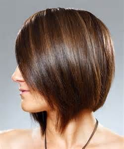 Back View Of A Short Stacked Bob Long At The Front | LONG HAIRSTYLES