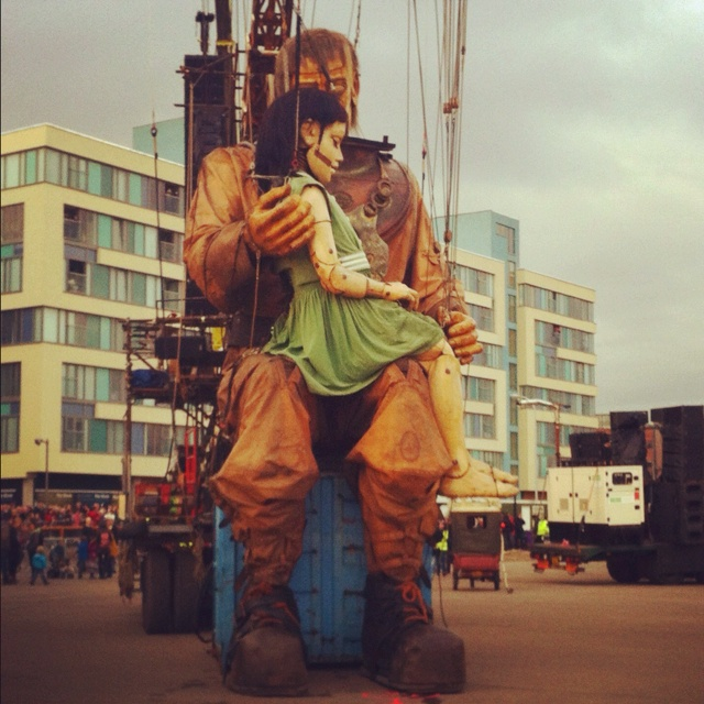 Sleeping! Sea Odyssey Giant Spectacular- Liverpool