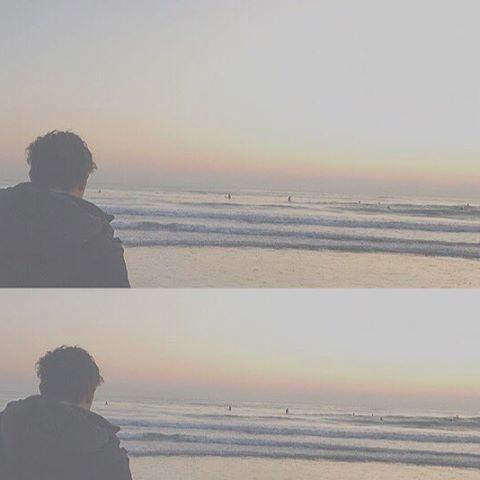 【matty_24jm】さんのInstagramをピンしています。 《. 次会えるのいつかな〜 . #由比ヶ浜#鎌倉#海 #yuigahama#kamakura#beach#sea #bf#instagood#0104》