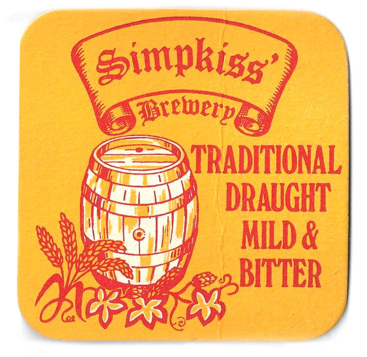 Simpkiss Vintage Beer Mat