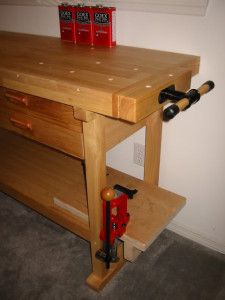 Check out how a Harbor Freight Tools customer transformed a Windsor 60-inch work bench into a reloading bench.